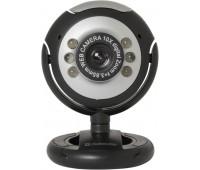 Web-камера DEFENDER C-110, черный и серый