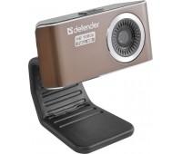Web-камера DEFENDER G-lens 2693, коричневый и черный