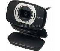 Web-камера LOGITECH HD C615, черный