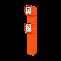Двухуровневая въездная стойка АП-ПРО 1-2У