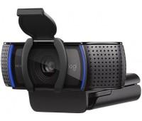 Web-камера LOGITECH HD Pro Webcam C920S, черный