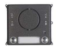 BPT MTMFA2PVR (60020620) Антивандальная накладка аудиомодуля c 2 кнопками для вызывной панели MTM