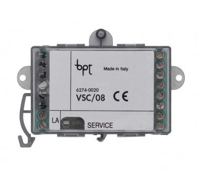 BPT VSC/08 (62740020) модуль подключения 4х дополнительных камер