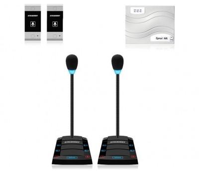 Stelberry SX-420 / 2 многоканальное переговорное устройство клиент-кассир