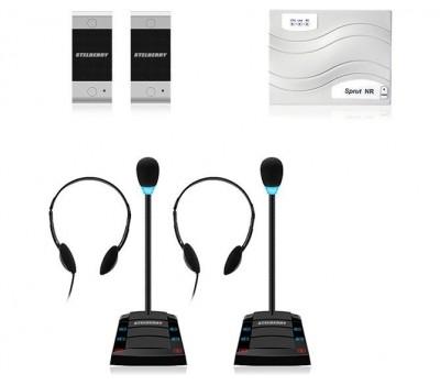 Stelberry SX-401 / 2 многоканальное переговорное устройство клиент-кассир