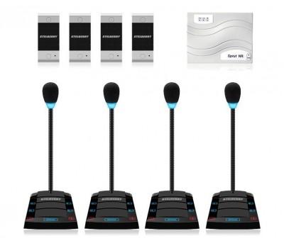 Stelberry SX-410 / 4 многоканальное переговорное устройство клиент-кассир