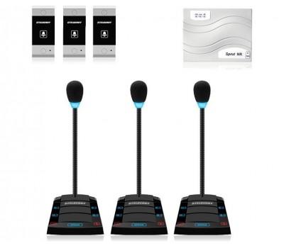 Stelberry SX-420 / 3 многоканальное переговорное устройство клиент-кассир