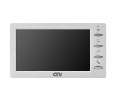 """CTV-M1701MD белый 7"""" цветной CVBS видеодомофон"""