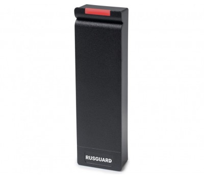 RusGuard R15-Multi черный считыватель mifare, em-marine, HID, Indala, BLE, NFC