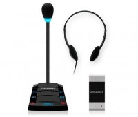 Stelberry S-411 одноканальное переговорное устройство клиент-кассир