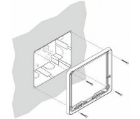 BPT OPALEKP WH BF комплект для настенной установки абонентского устройства OPALE (W)