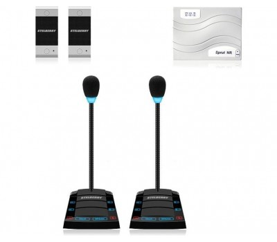 Stelberry SX-510 / 2 многоканальное переговорное устройство клиент-кассир