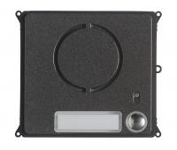 BPT MTMFAL1PVR (60020640) Антивандальная накладка упрощенного аудиомодуля с 1 кнопкой для вызывной панели MTM