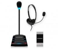 Stelberry S-412 одноканальное переговорное устройство клиент-кассир