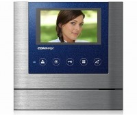 "Commax CDV-43M Metalo синий 4.3"" цветной CVBS видеодомофон"