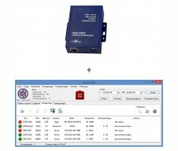 IronLogic Guard Light-10/2000 IP комплект конвертор Z-397 WEB с лицензией Guard Light