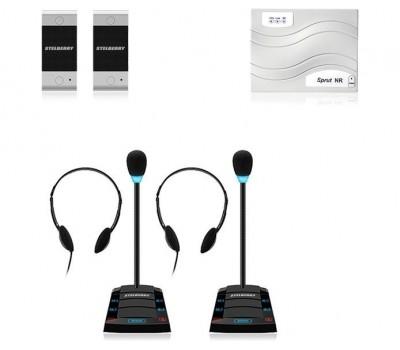 Stelberry SX-411 / 2 многоканальное переговорное устройство клиент-кассир