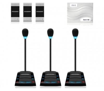 Stelberry SX-510 / 3 многоканальное переговорное устройство клиент-кассир