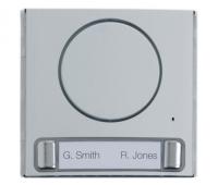 BPT MTMFAL2P (60020100) Накладка упрощенного аудиомодуля с 2 кнопками для вызывной панели MTM