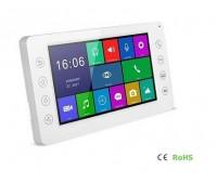 """AccordTec AT-VD750C/SD K EXEL WHITE цветной 7"""" видеодомофон"""
