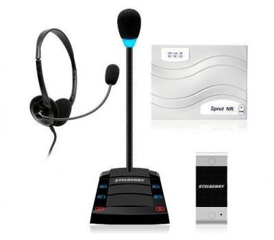 Stelberry SX-402 / 1 многоканальное переговорное устройство клиент-кассир