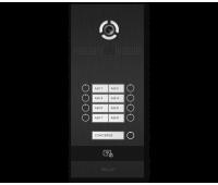 BAS-IP BI-08FB BLACK вызывная панель на 8 абонентов
