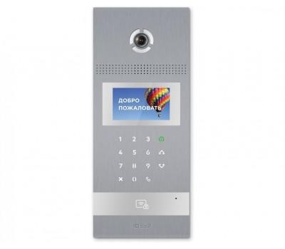 BAS-IP AA-12B SILVER многоабонентская цветная IP видеопанель