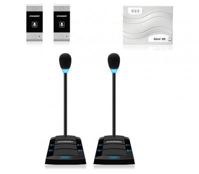 Stelberry SX-425 / 2 многоканальное переговорное устройство клиент-кассир