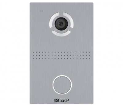 BAS-IP AV-03D SILVER одноабонентская цветная IP видеопанель