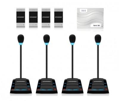 Stelberry SX-510 / 4 многоканальное переговорное устройство клиент-кассир