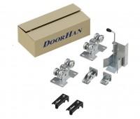 DoorHan DHSK-95 комплект роликов и направляющих для 95 балки