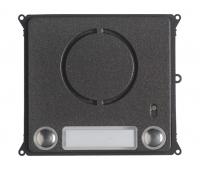 BPT MTMFAL2PVR (60020650) Антивандальная накладка упрощенного аудиомодуля с 2 кнопками для вызывной панели MTM