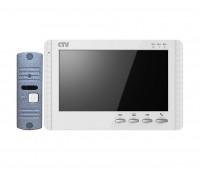 """CTV-DP1704MD белый комплект 7"""" цветного CVBS видеодомофона"""