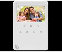 AccordTec AT-VD432C WH цветной 4-x проводный, 4.3'' TFT LCD (320х240) видеодомофон