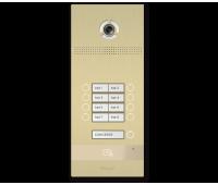 BAS-IP BI-08FB GOLD вызывная панель на 8 абонентов