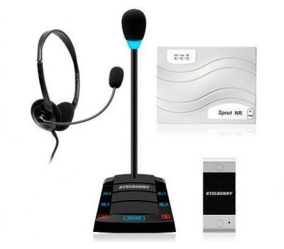 Stelberry SX-412 / 1 многоканальное переговорное устройство клиент-кассир