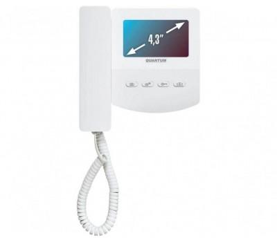 """Quantum AT-VD 433C белый 4.3"""" цветной CVBS видеодомофон"""