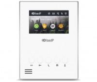 "BAS-IP AU-04LA WHITE 4.3"" цветной IP видеодомофон"