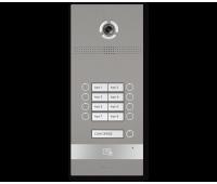 BAS-IP BI-08FB SILVER вызывная панель на 8 абонентов