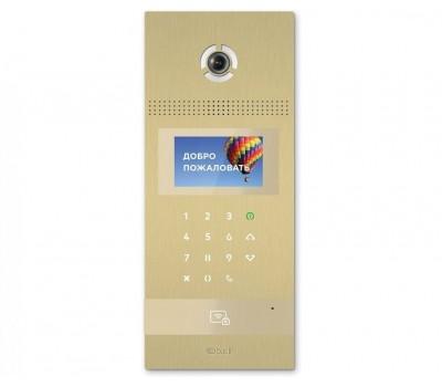 BAS-IP AA-12B GOLD многоабонентская цветная IP видеопанель
