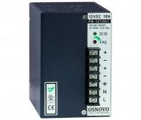 OSNOVO PS-12120/I блок питания 12 В, выходной ток 10А на DIN-рейку