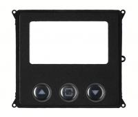 BPT MTMFDYVR (60020710) Антивандальная накладка информационного дисплея с кнопками управления для вызывной панели MTM
