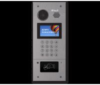 BAS-IP AA-07B SILVER SS многоабонентская цветная IP видеопанель