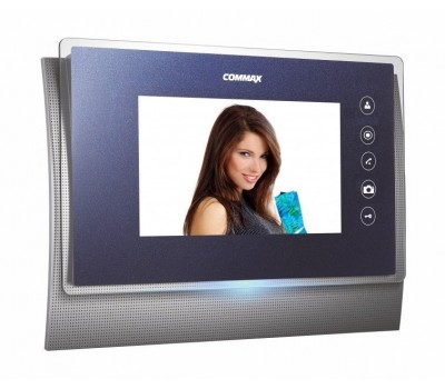 """Commax CDV-71UM синий 7"""" цветной CVBS видеодомофон"""
