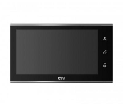 """CTV-M2702MD черный 7"""" цветной CVBS видеодомофон"""