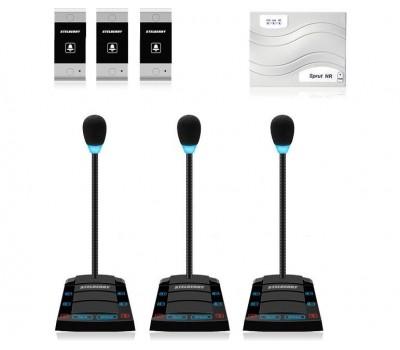 Stelberry SX-520 / 3 многоканальное переговорное устройство клиент-кассир