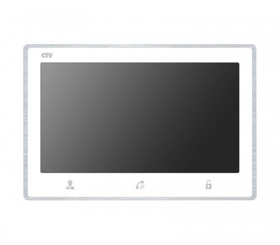"CTV-M4703AHD белый 7"" цветной AHD, CVBS, CVI, TVI видеодомофон"
