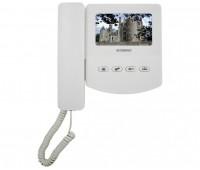 AccordTec AT-VD433C WH цветной 4-x проводный, 4.3'' TFT LCD (320х240) видеодомофон