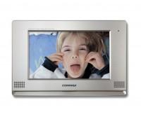 """Commax CDV-1020AQ/VZ CDV-1020AQ-Vizit серебро 10.2"""" цветной CVBS видеодомофон"""