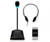 Stelberry S-401 одноканальное переговорное устройство клиент-кассир